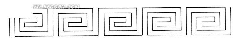 回形纹图案_回形纹图案