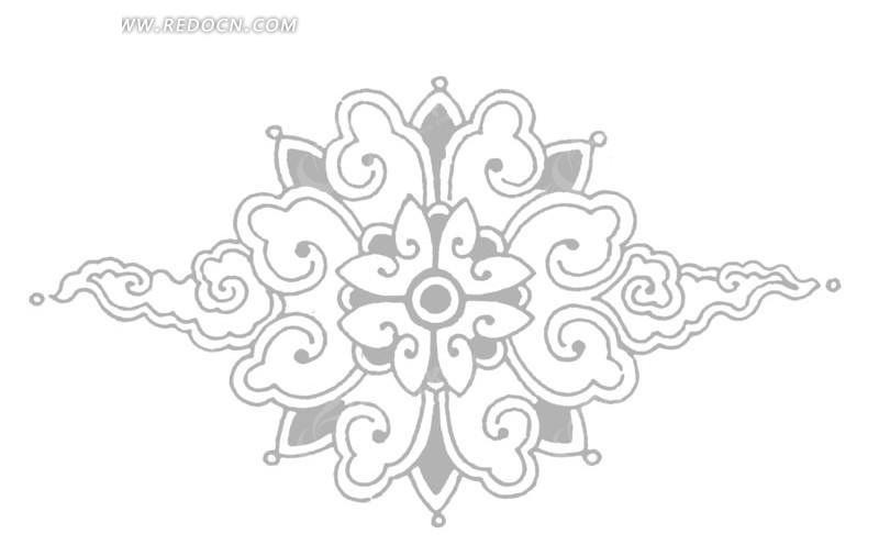 手绘2方连续纹样