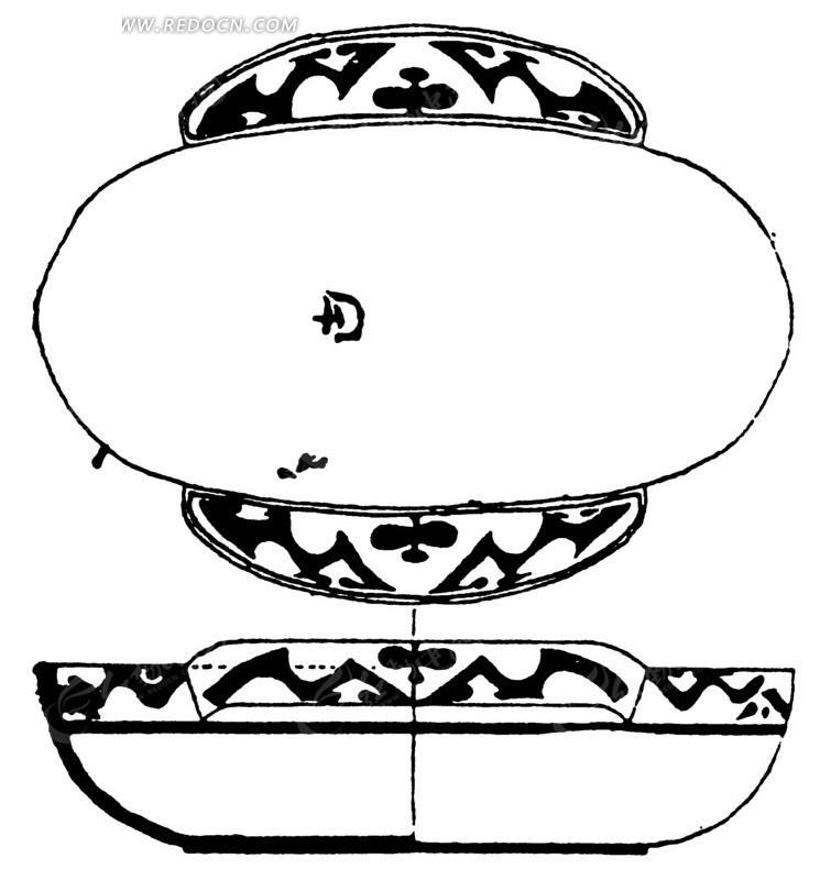 器物造型手绘稿