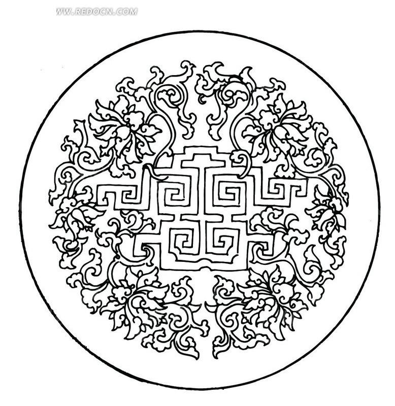 平面构图设计 黑白