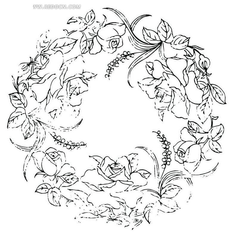 圆形产品设计手绘