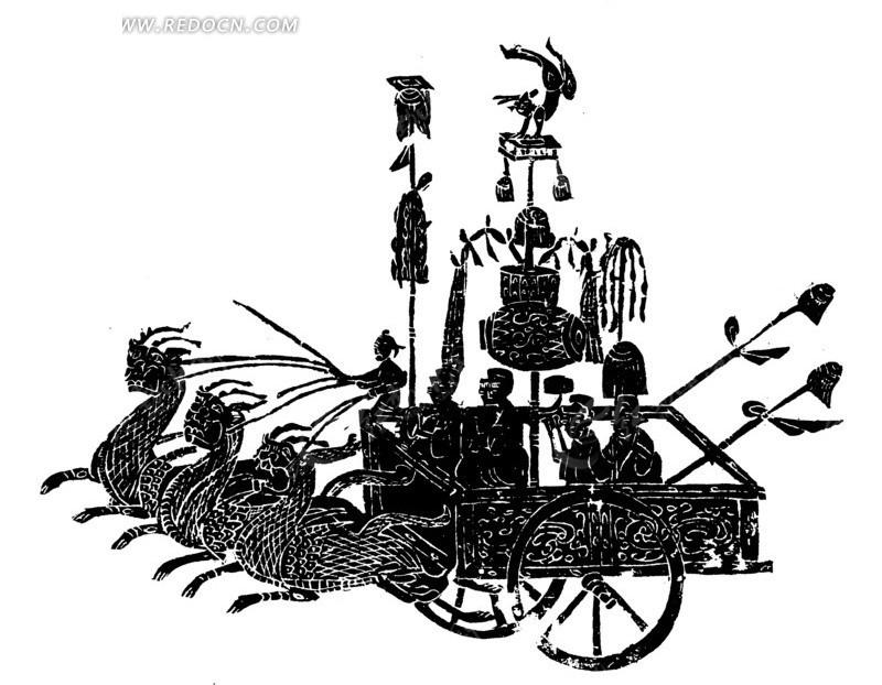 古装妖精手绘稿