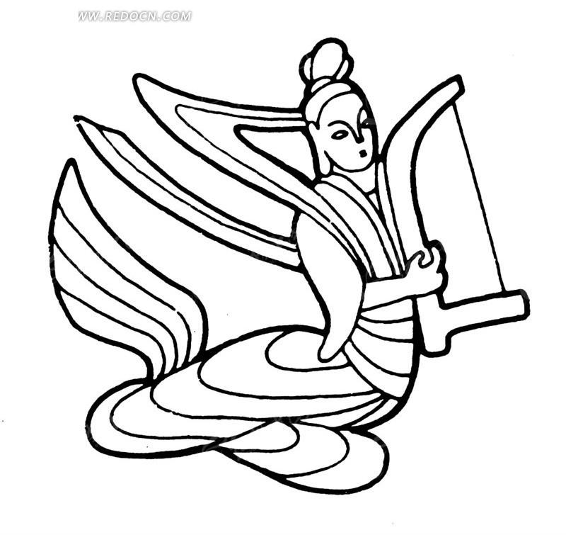 简笔画 设计 矢量 矢量图 手绘 素材 线稿 800_785