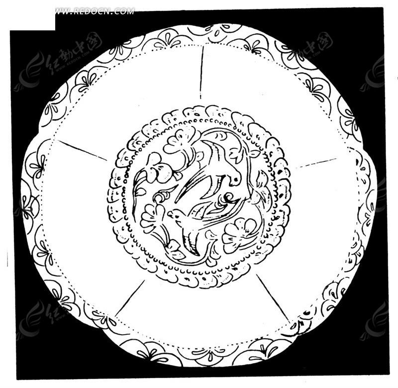 圆盘卡通图案设计