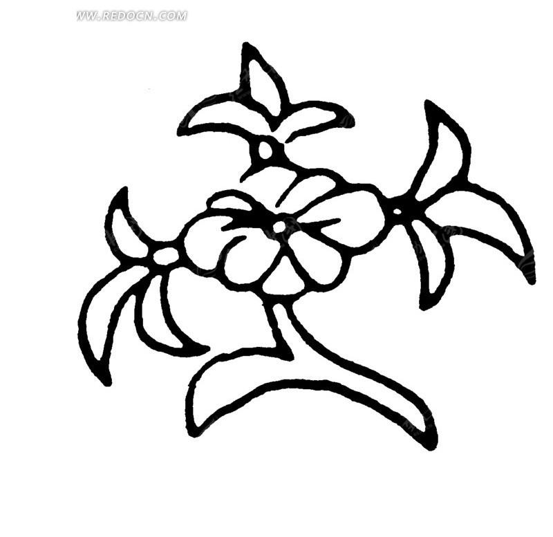 一朵梅花图片