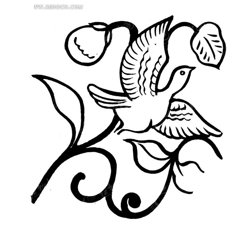 简笔画 设计 矢量 矢量图 手绘 素材 线稿 800_781