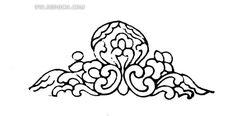 古典风简单手绘画