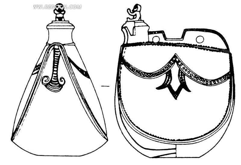 中国古代器物-古物上的几何形图案