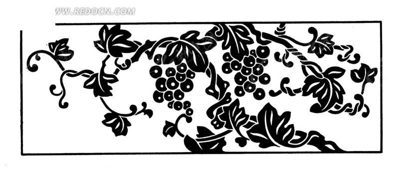 手绘 树 方形