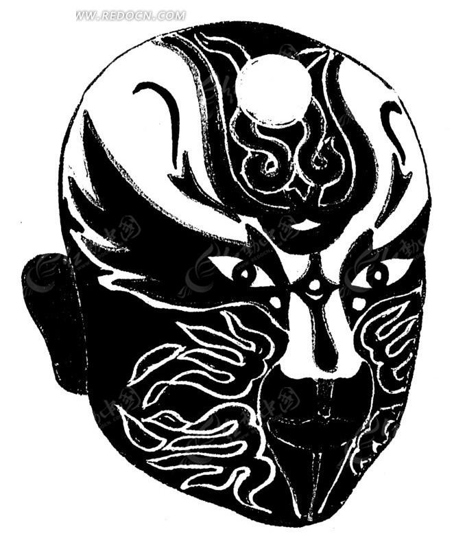 中国风 中国古典 黑白图案 工艺美术 工艺品 矢量 矢量素材 ai ai设计图片