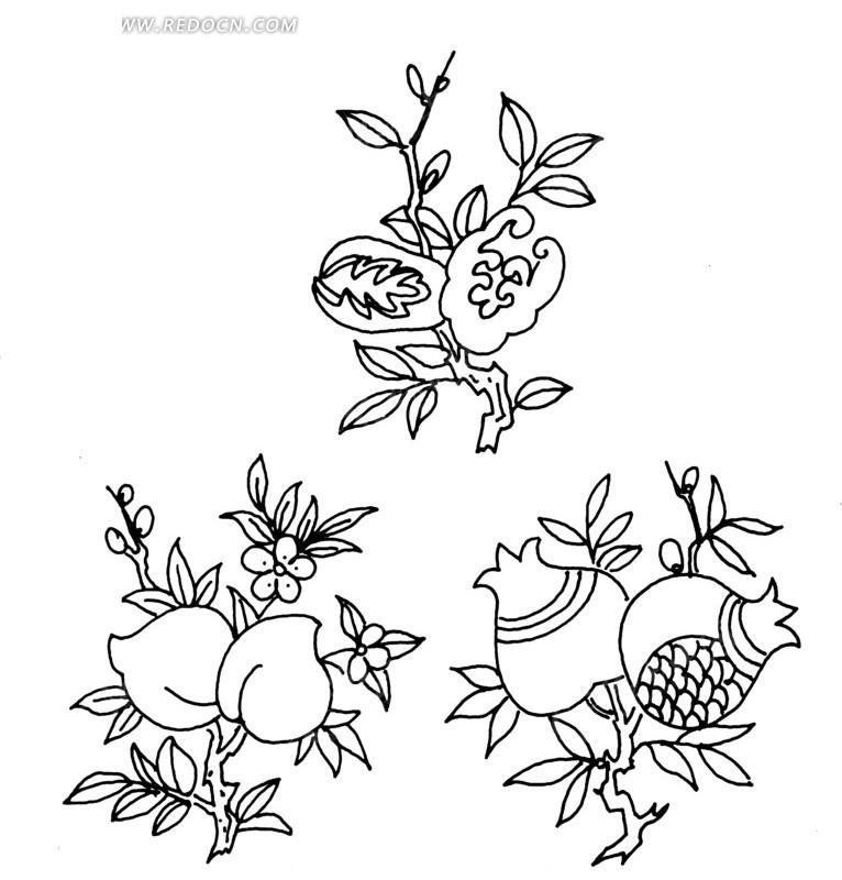 简笔画 设计 矢量 矢量图 手绘 素材 线稿 766_830