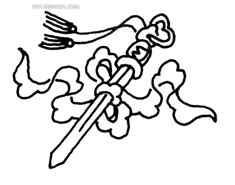 画宝剑的步骤图片大全