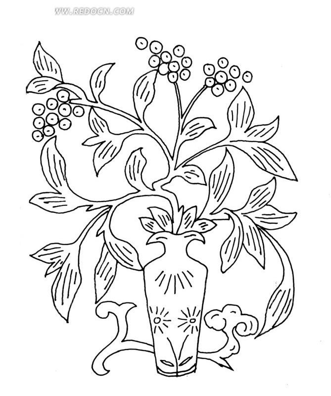 朵植物花简笔画步骤   scimg.jb51.net 宽650x650高
