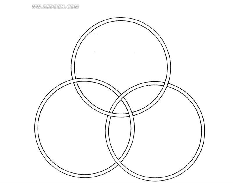 手绘圆圈图片大全