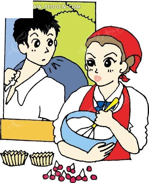 温国学卡通人物