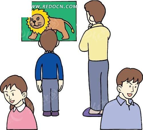 手绘衬衣卡通人物