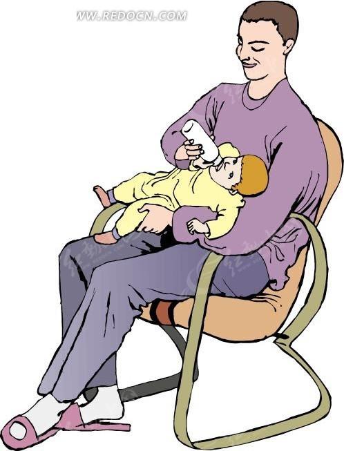 爸爸 男人 卡通 绘画 插画 手绘 卡通人物 卡通人物图片 漫画