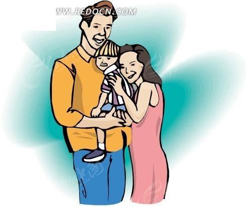 爸爸操妈妈的逼_抱着小孩的爸爸和妈妈