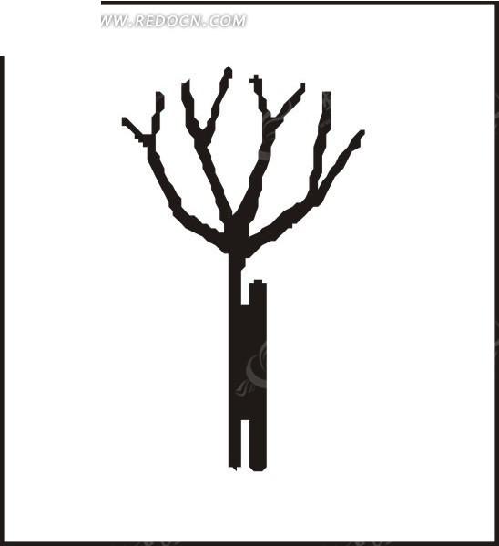 干枯的树枝