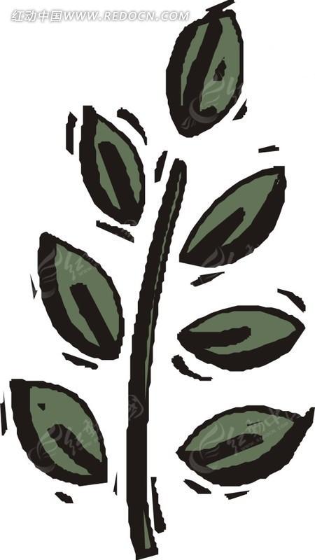 29m eps 叶子 矢量植物 矢量 e.; 植物树木花草矢量图139600.jpg