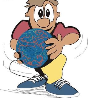 拿着气球走在小木桥上的小朋友图片