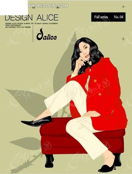 脚踩在女中上的卡通美女岑巩第三美沙发学图片