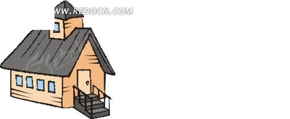 木屋图片大全可爱卡通