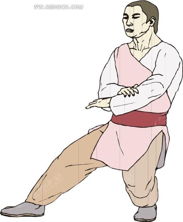 手绘古代男子发型图片展示