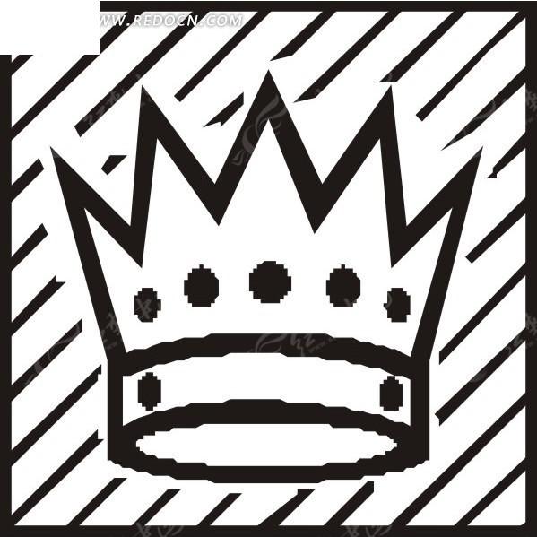 简笔画皇冠 生活百科 矢量素材下载 1552851高清图片