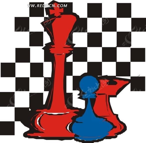 手绘国际象棋