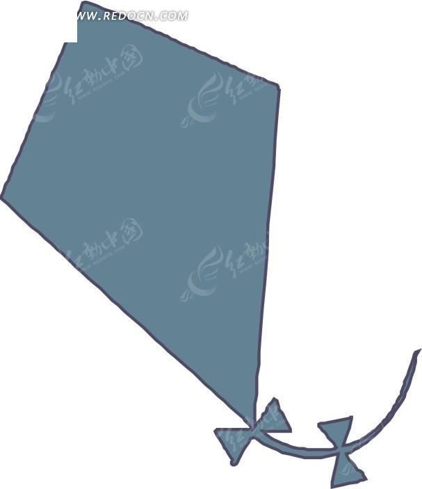 手绘一个风筝