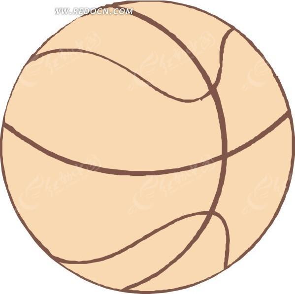 篮球矢量图_