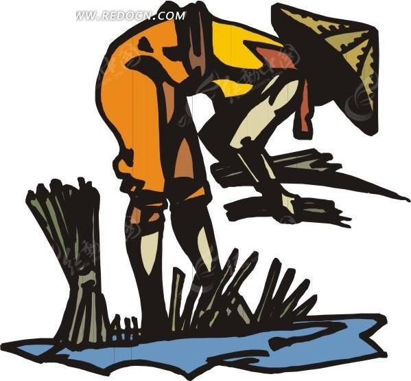山水房地产手绘海报 手绘花园洋房广告 江景地产海报手绘 手绘彩色