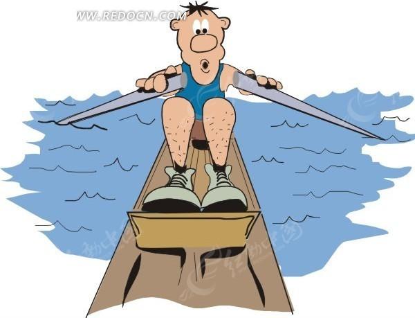 体育运动 卡通人物 卡通画 插画 手绘 矢量素材 人物图片  生活百科