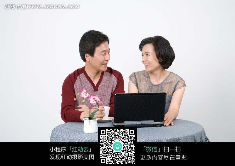中年夫妻 人物素材 摄影图片