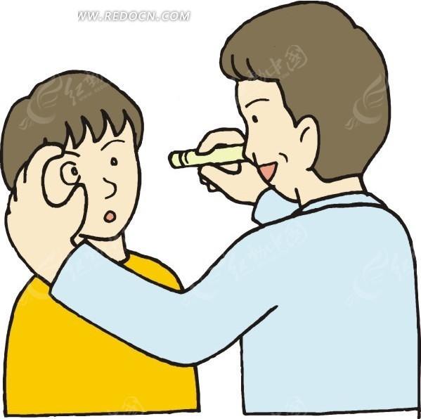 儿童眼睛结构图