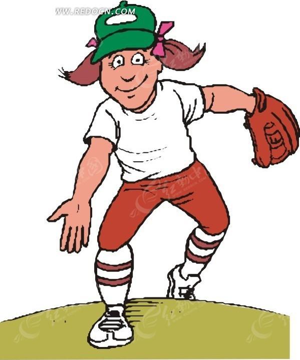 免费素材大全手套生活百科体育运动手戴矢量素材的图片请您分国外的美女垒球秋千图片