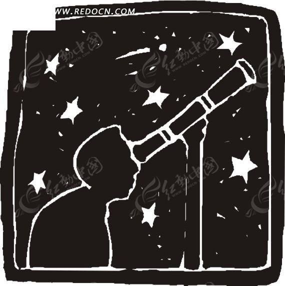 天文社手绘海报
