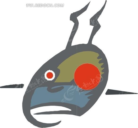 手绘鲨鱼 手绘 鲨鱼 eps素材 矢量 矢量素材 插画 卡通 科学研究 科技