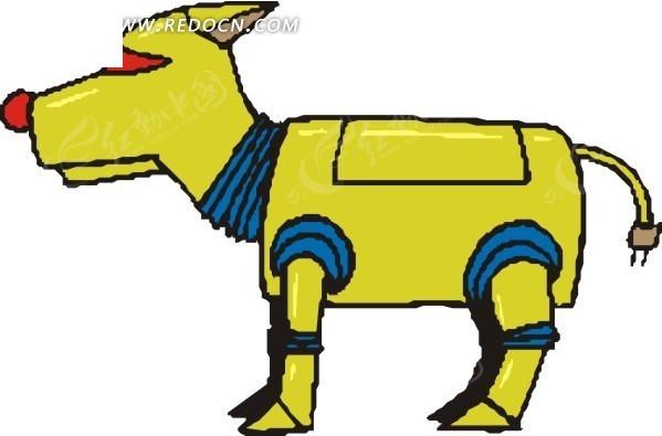 手绘机器狗