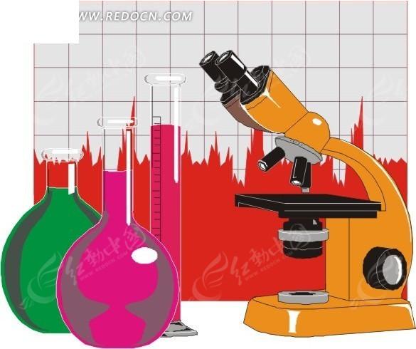 化学仪器图片 化学仪器矢量图EPS免费下载_科学研究素材