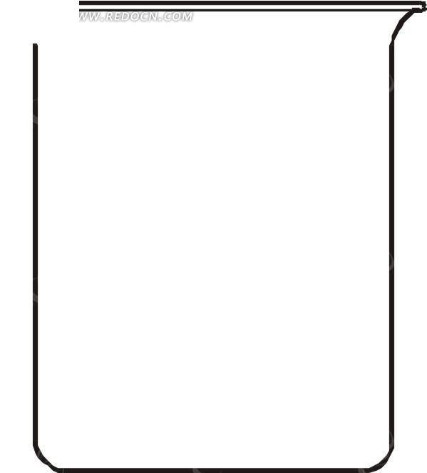 ppt 背景 背景图片 边框 模板 设计 相框 599_693