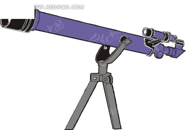 天文望远镜看月亮
