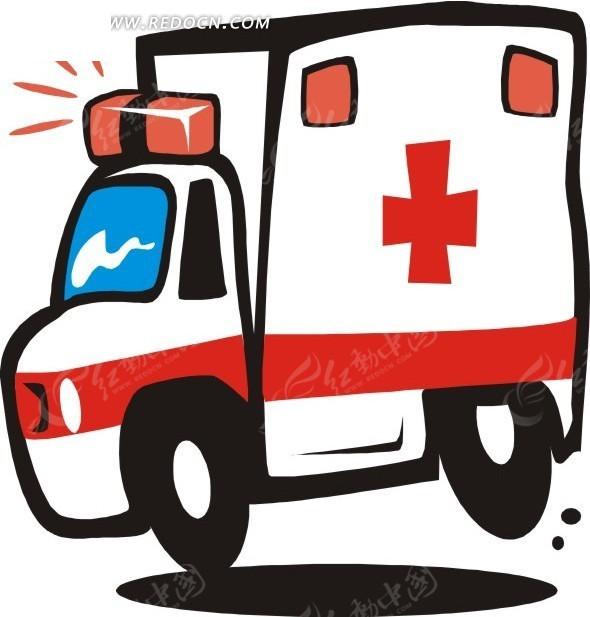 119急救车卡通图片