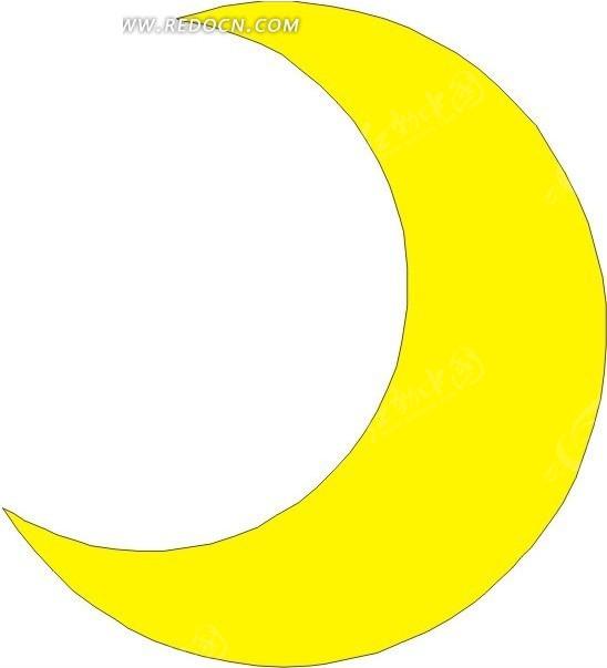弯弯的月亮图片