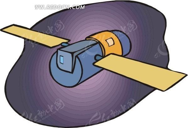 气象卫星 eps素材 矢量 矢量素材 插画 卡通 科学研究 科技图片