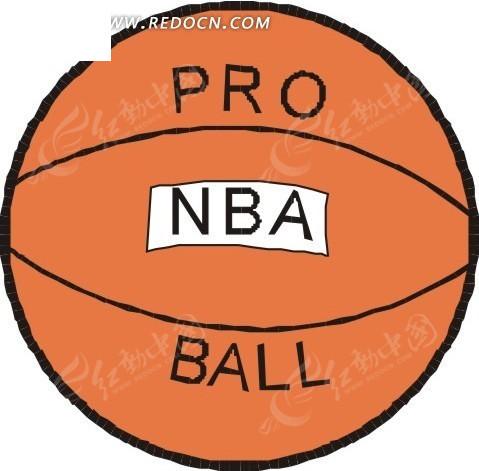 手绘篮球架_体育运动_红动手机版