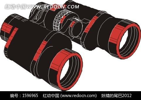 手绘望远镜