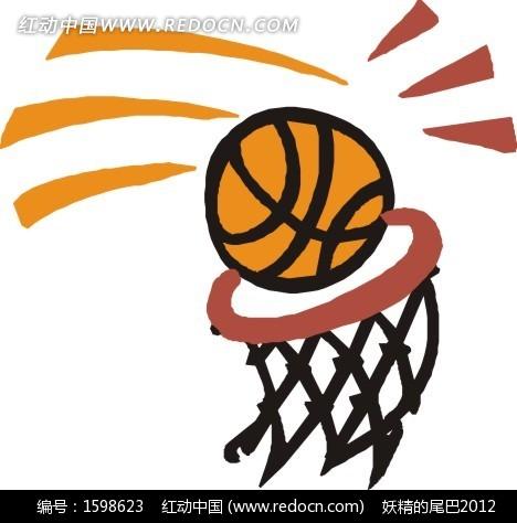 篮球框和篮球