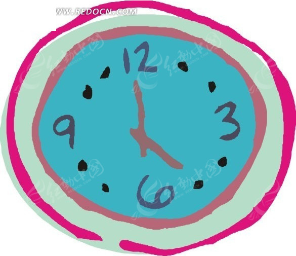 钟表考前设计线稿